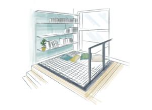 Projet filet habitation maison passive