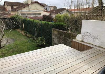 Terrasse bois à sécuriser