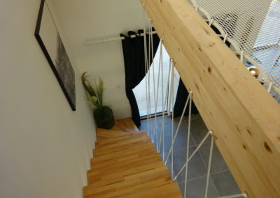 Protection d'escalier