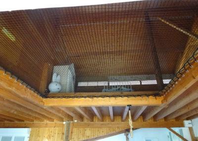 Transparence filet d'habitation