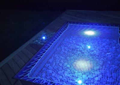 Filet de détente avec LED